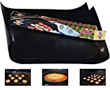 The Busy Home BBQ Grill Mat and Bake Mat with 2 Recipe...