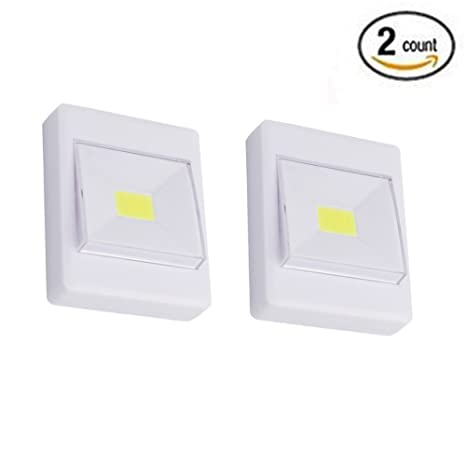 Yaping Tap Light, Battery Operated Light ,Closet Light,Touch Click Push  Light,