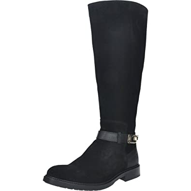 883702762 Tommy Hilfiger Women s Fw56821507-990 Boots black Size  3 UK  Amazon.co.uk   Shoes   Bags