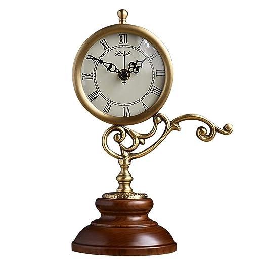 Reloj de Mesa, Reloj de La Chimenea, Europeo Silencioso Tictac ...