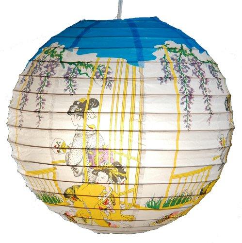 Quasimoon PaperLanternStore.com Double Geisha Paper Lantern
