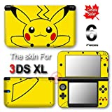 Pokemon Pikachu Classic NEW VINYL SKIN STICKER DECAL COVER for Nintendo 3DS XL