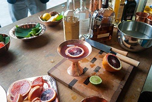 Sertodo Copper Mtini-Gangotri Martini Cocktail Set, Set of 2 + Pitcher, Copper