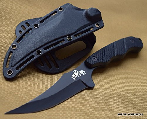 SNAKE EYE TACTICAL NEW ARRIVAL FIXED BLADE HUNTING SKINNING KNIFE WITH NYLON FIBER HARD SHEATH