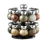 Kabalo Stainless Steel Revolving Herb & Spice Jar Rack Organiser Holder Condiment Stand