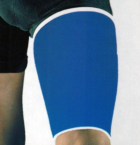 OBERSCHENKELBANDAGE blau Sportbandage Oberschenkel Schoner Bandage Bandagen
