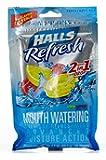 Halls Refresh Mouth Watering - Lemon Raspberry - 2 flavors in 1 Drop