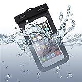 Waterproof Case, NOKEA Clear Universal Waterproof Case Bag with Dirt-Proof Snow-Proof Case Bag