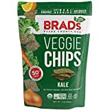 Brad's Plant Based Organic Veggie Chips, Kale, 12 Count