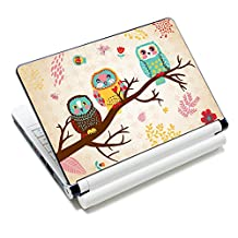 "iColor Laptop Skin Sticker Soft Vinyl Sticker Decal Cover for 12"" 13"" 13.3"" 14"" 15"" 15.4"" 15.6"" Sony HP Asus Acer Toshiba Dell Notebook Owls"