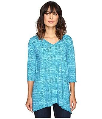 68aa1737b78 Fresh Produce Women's Serengeti Santa Barbara Top Teal Shirt at ...