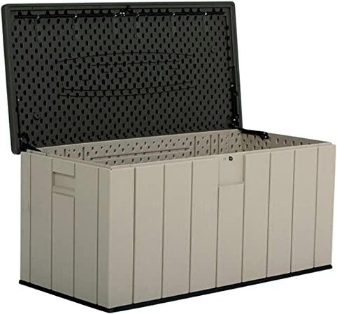 Arcón de Jardin para Exteriores Al aire libre Caja de almacenamiento de 150 galones for cualquier