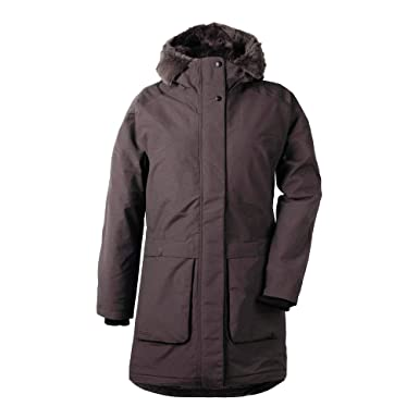 Didriksons Dagny Women's Parka Chocolate Brown