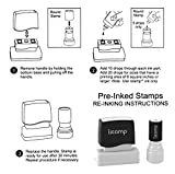 Custom Address Stamp - Personalized Self-inking
