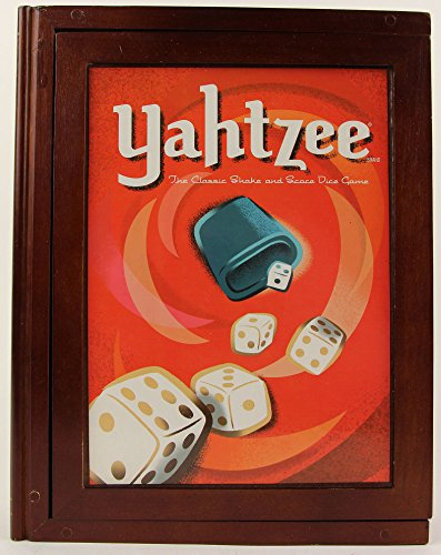 (Library Yahtzee Vintage Book Game)