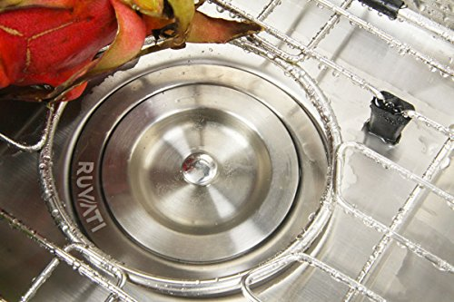 Ruvati 14-inch Undermount 16 Gauge Tight Radius Bar Prep Sink Stainless Steel Single Bowl - RVH7114 by Ruvati (Image #9)