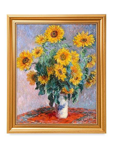 DecorArts Sunflowers Claude Reproduction Quality