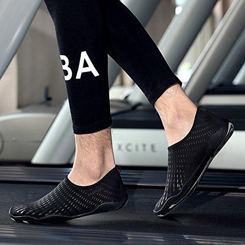 claro secado natación rojos buceo respiración suave de la zapatos buceo y Lucdespo zapatos Negro piel rafting de rafting zapatos de playa Zapatos rápido EqcvwaxB