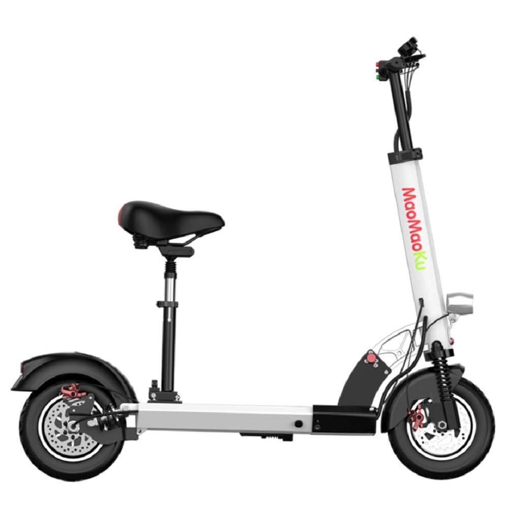 WSJ Scooter Eléctrico, Plegable + Triple Sistema De ...