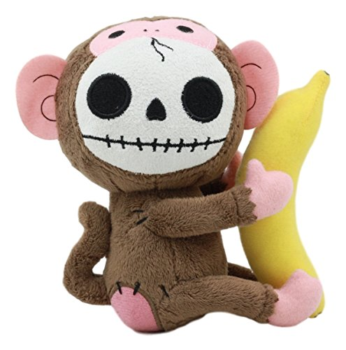 Cat Monkey Costumes Banana - Ebros Small Furry Bones Skeleton Baby