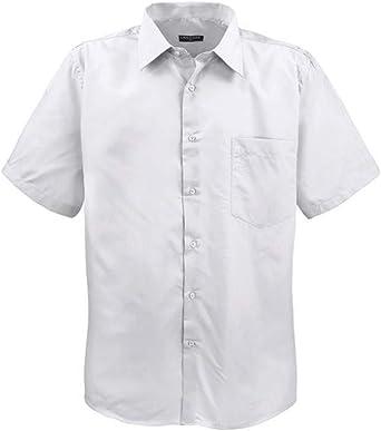 Lavecchia ¡ Más Grande Schickes HKA 14-02w - Camisa de Manga Corta para Hombre, Color Blanco: Amazon.es: Ropa y accesorios