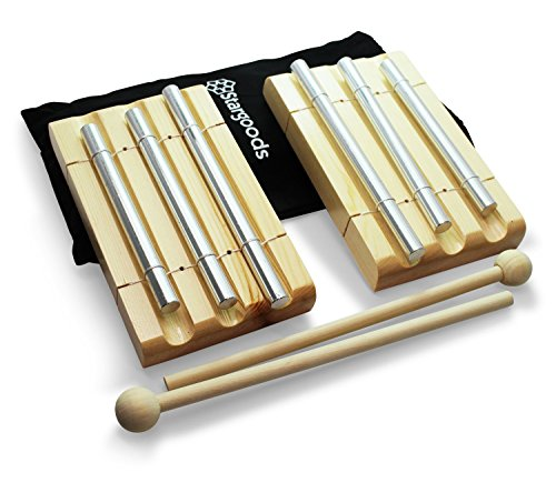Stargoods Energy Chime 3 Tone with Wooden Percussion Hammer (Set of 2) by Stargoods