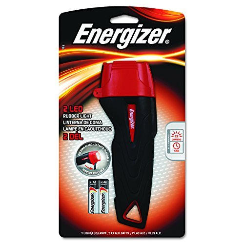 Energizer Rubber LED Flashlight