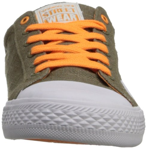Linen Neon Lo Canvas Orange Wear Street Vision Women's BwpHH6