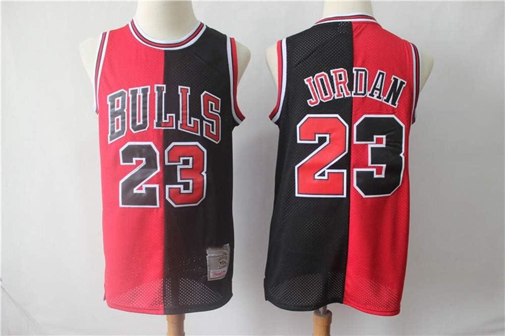 TGSCX Hombres Mujeres Chicago Bulls y Camiseta de la NBA Michael Jordan # 23 Classic Jersey Retro c/ómodo tama/ño Fresco All Stars Neutro Uniforme Fan,A,S 170CM//50~65Kg