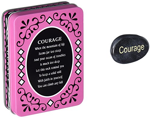 Stones Sentiment Tin Box Courage product image