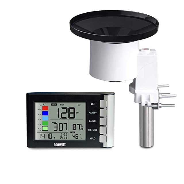 ECOWITT WH5360B high precision digital rain gauge