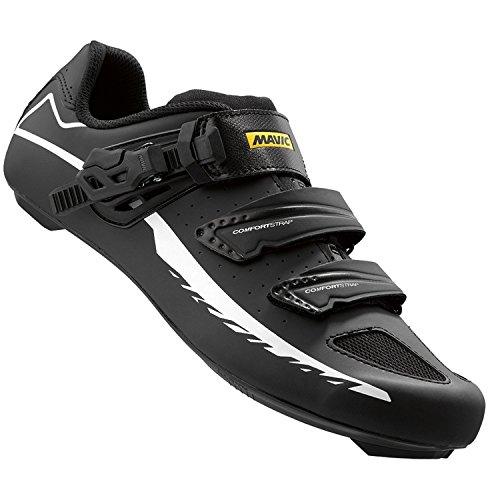 Mavic Aksium Elite II Shoes, Black/White, Size (Mavic Cosmic Carbone Ultimate)