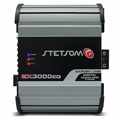 Stetsom EX3000EQ-2OHM 3600 Watts RMS 2 ohms Digital Mono Amplifier w/Built-in EQ