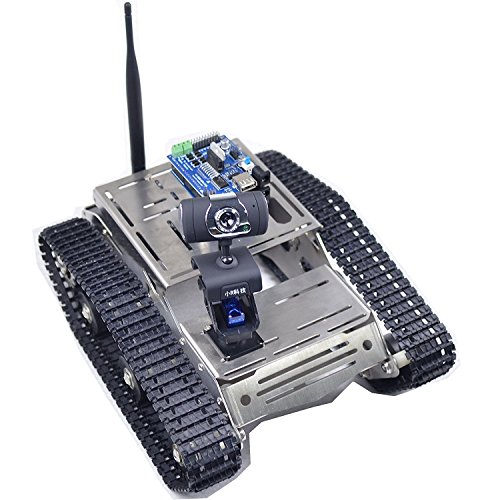 Makerfire Arduino Fpv Robot Car Kit Wifi Utility Intelligent Vehicle