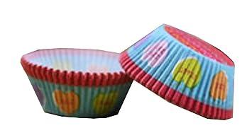 Amazon De 100 Stuck Schone Kuchen Backen Schalen Kuchen Kuchen Dekor 01