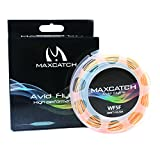 Maxcatch Trout Fly Line Weight Forward Floating 100FT Orange/Blue Fly Fishing (orange&blue, WF3F) Review