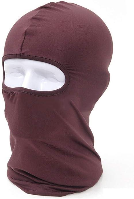 NLJYSH El Alpinismo al Aire máscara máscaras a Prueba de Viento Moto Deportiva de algodón mascarilla Completa protección del Cuello del Ninja de la Venda de los Sombreros (Color : E): Amazon.es: