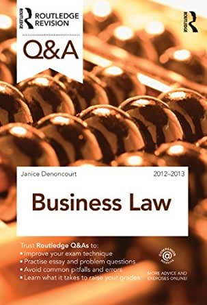 Qu0026A Business Law (Questions And Answers) 2nd Edition, Kindle Edition