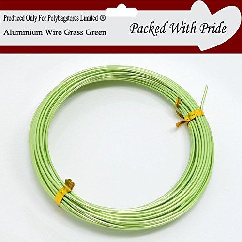 0.8mm LIGHT BLUE Aluminium Arts /& Craft Wire,Jewellery Modelling Florist Wire