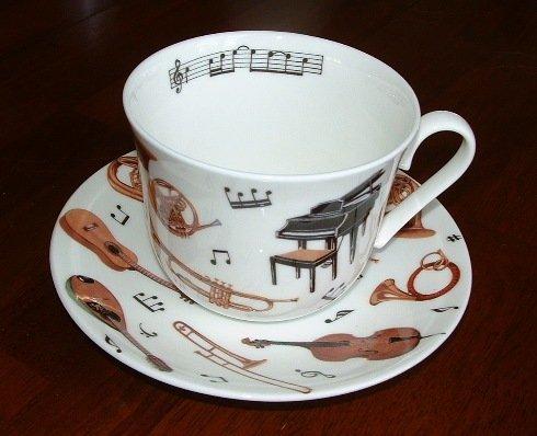 Coffee Concerto Gift (Roy Kirkham Fine Bone China Musician's