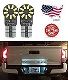 91 ranger rear cab light - LED Monster 2x 168 194 T10 5SMD LED Bulbs Car License Plate Lights Lamp White 12V (1) (18 SMD)