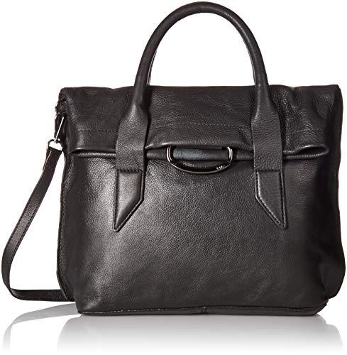 - Kooba Handbags Montreal Top Handle Satchel with Detachable Crossbody Strap,  Black, One Size