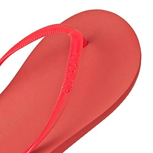 Billabong - Sandalias de dedo Unisex adulto Rojo