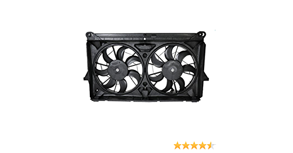 Radiator Cooling Dual Fan w// Motors Blades for GMC Chevy Pickup Truck SUV
