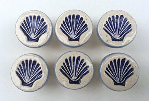 Handmade Scallop Shell Knobs, Seashell Drawer Pulls, Cabinet Knobs, Nautical Knobs, Beach House Knobs, Beach House Decor, Furniture Knobs