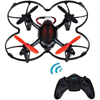 NiGHT LiONS TECH X6-Heli Mini Drone 2.4G 6-Axis Gyro RC Quadcopter with 2MP HD Camera RTF