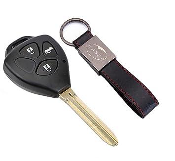 Carcasa Funda Llave Remoto Mando 3 Botones para Toyota Yaris ...