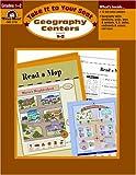 Geography Centers, Grades 1-2, Evan-Moor, 1557999953