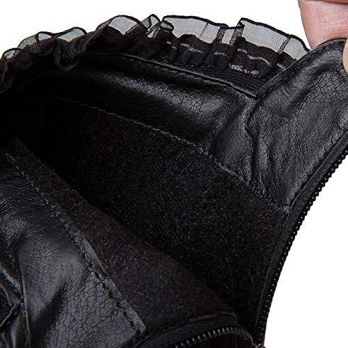 À Plateforme Black Bottines Coolcept Femmes Cheville Avec Sexy Hautes Talons 2 Aiguilles gExFqx8