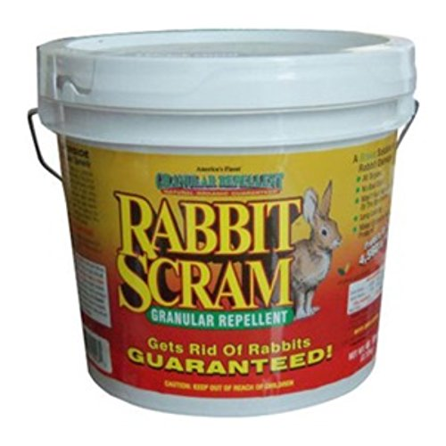 Enviro Pro 11025 Rabbit Scram Repellent Granular White Pail, 25 Pounds -  Enviro Protection Ind